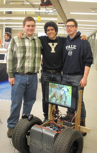 Yale Undergraduate Intelligent Vehicle team