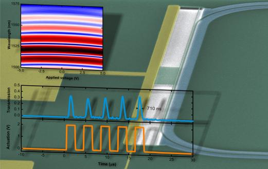 On-chip phase shifting optics, with results